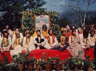 Beatles in india -Wikibild