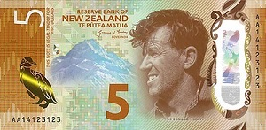 Bank Note, Banknote: New Zealand Good Condition Circulated 50 Dollars