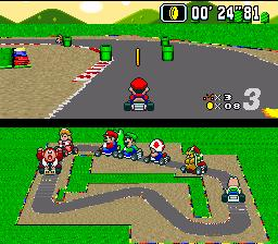 RetroGaming, GamesFreezer, Super Mario Kart