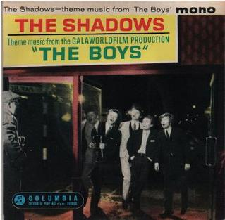 <i>The Boys</i> (The Shadows EP) 1962 EP by The Shadows