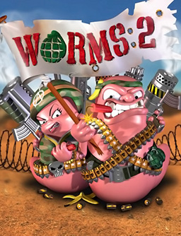 Picture of a game: Worms 2