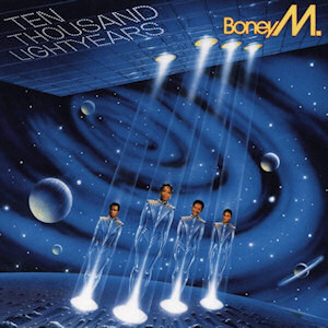 <i>Ten Thousand Lightyears</i> 1984 studio album by Boney M.