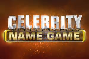 <i>Celebrity Name Game</i> television series