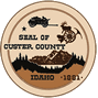 Official seal of Custer County