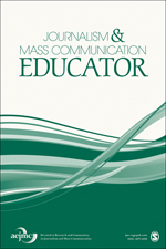 Journalism and Mass Communication Educator journal front cover image.png