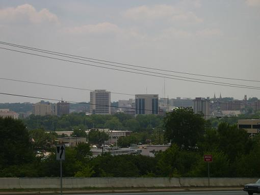 Downtown Macon skyline from the northeast