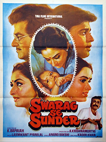 <i>Swarag Se Sunder</i> 1986 Indian film directed by K. Bapaiah