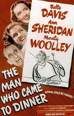 The man who Came to Dinner, film poster