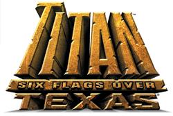 Titan (Six Flags Over Texas) roller coaster