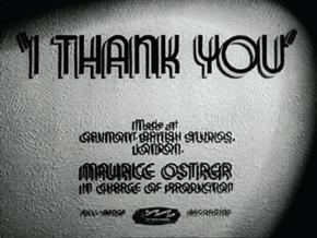 <i>I Thank You</i> (film)