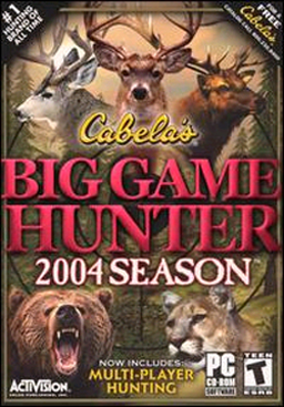 Cabela's Big Game Hunter: 2004 Season