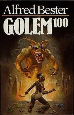First Edition 1980 Golem 100 Alfred Bester Jack Gaughan Hardcover w/Dustjacket