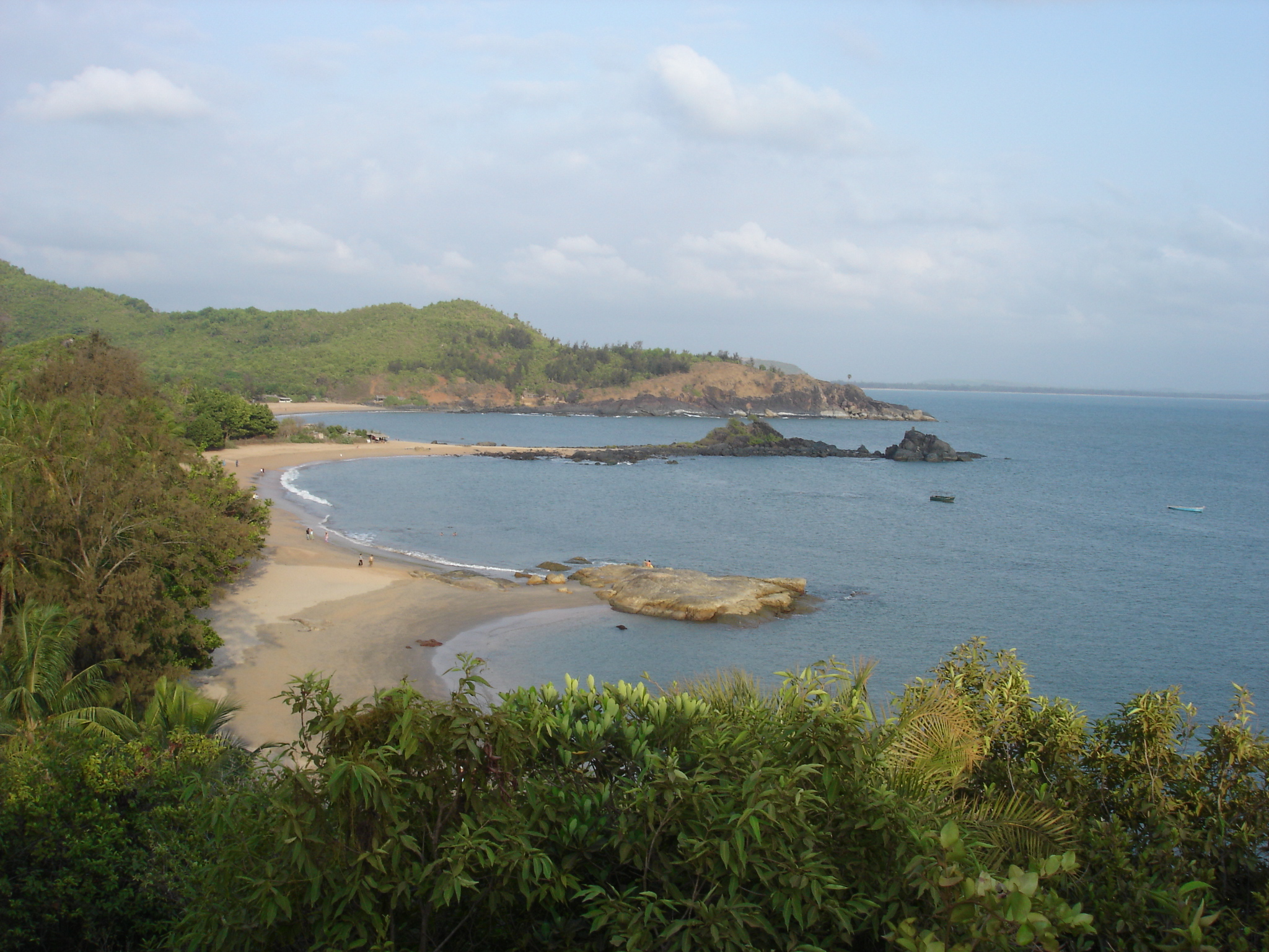 File:india Karnataka om Beach