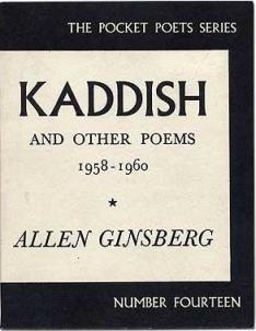 <i>Kaddish and Other Poems</i> Book of poems by Allen Ginsberg