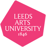 Logo consisting of white script with 1846 year on dark pink irregular-polygon base