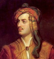 Lord Byron in Albanian dress cropped