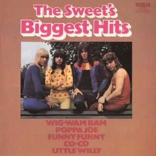 <i>The Sweets Biggest Hits</i> 1972 greatest hits album by The Sweet