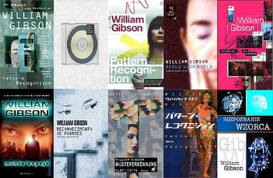 Pattern Recognition (novel) - covers
