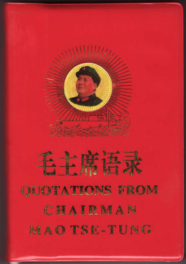 most popular chinese book, the little red book