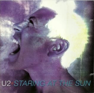 Staring at the Sun (U2 song) 1997 single by U2