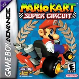 <i>Mario Kart: Super Circuit</i> 2001 racing video game for the Game Boy Advance