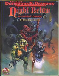 Image du jeu Ad&d2 - La nuit des profondeurs