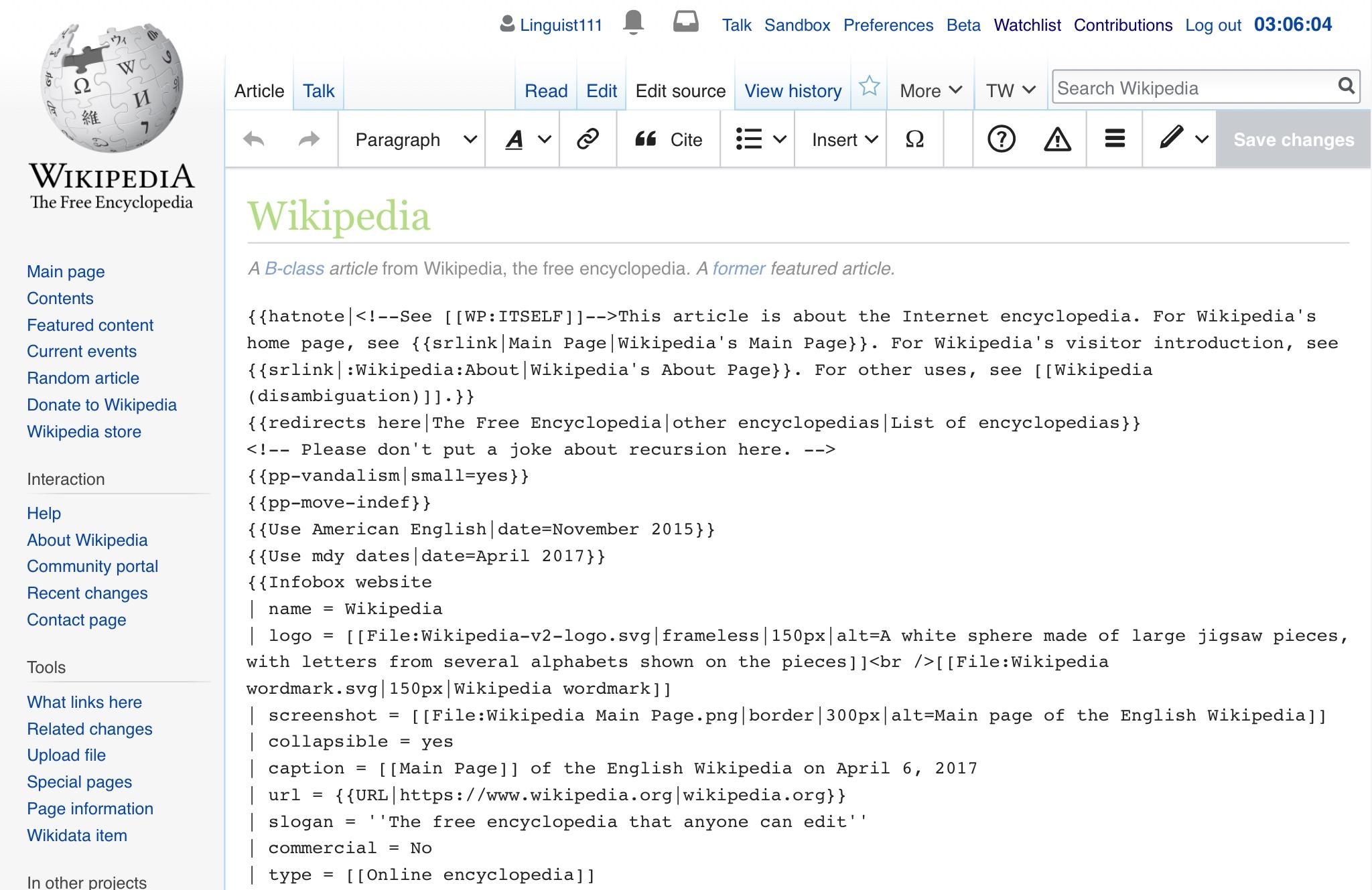 File:Wikitext source editor 112017 jpeg - Wikipedia