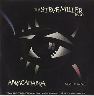 Cover image of song Abracadabra by Steve Miller Band