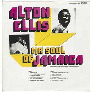 <i>Mr Soul of Jamaica</i> 1974 studio album by Alton Ellis