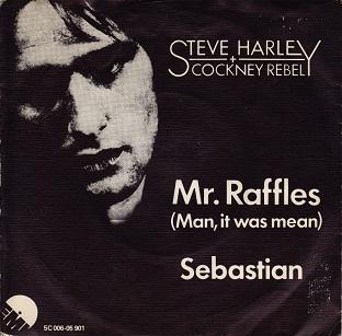Mr. Raffles (Man, It Was Mean) 1975 song performed by Steve Harley & Cockney Rebel