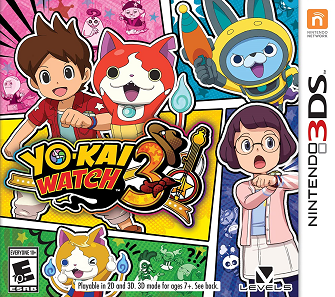 <i>Yo-kai Watch 3</i> video game