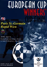 1996 UEFA Cup Winners Cup Final Football match