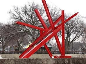 <i>Are Years What? (for Marianne Moore)</i> artwork by Mark di Suvero