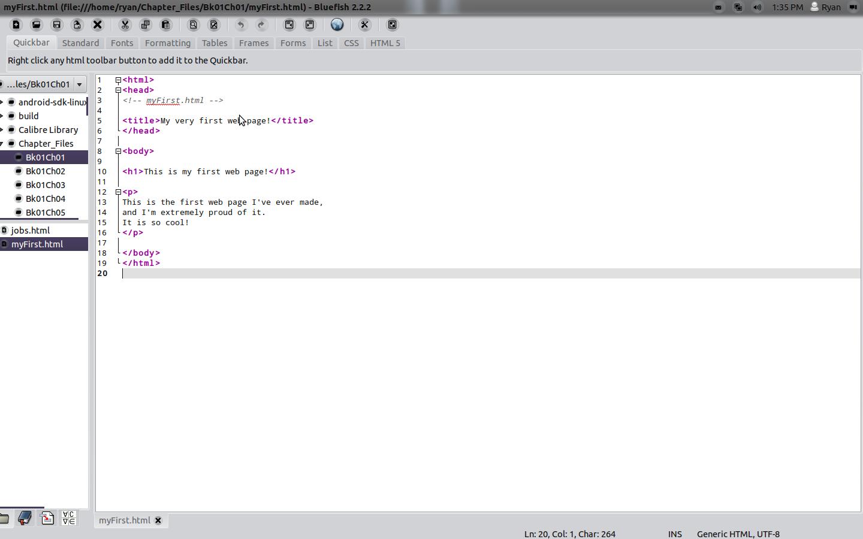 File:Bluefish editor editng an html page.png - Wikipedia