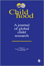 Childhood (journal) front cover.jpg