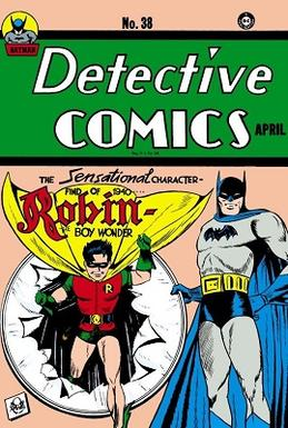 Detective Comics #38 (April 1940), Robin, Jerry Robinson