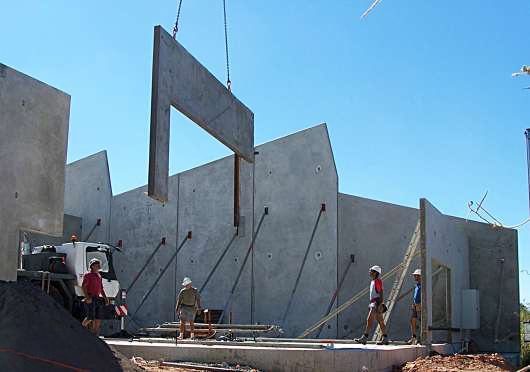 Tilt Up Concrete Slabs : Shoring wikipedia