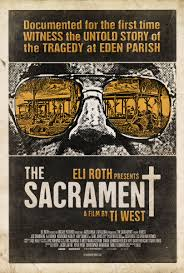 <i>The Sacrament</i> (2013 film) 2013 American found footage horror thriller film directed by Ti West
