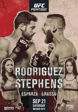 UFC Fight Night: Rodríguez vs  Stephens - Wikipedia