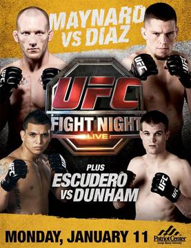 "**UFC Fight Night 20*Diaz vs Maynard*1/11/10** <span style=""font-size:12px;"">(Edited 01/12/10 12:18AM by Scott)</span> Photo"