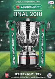2018 EFL Cup Final Football match