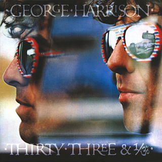 Image result for george harrison 33 and 1/3 new vinyl art