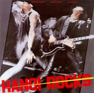 <i>Bangkok Shocks, Saigon Shakes, Hanoi Rocks</i> 1981 studio album by Hanoi Rocks