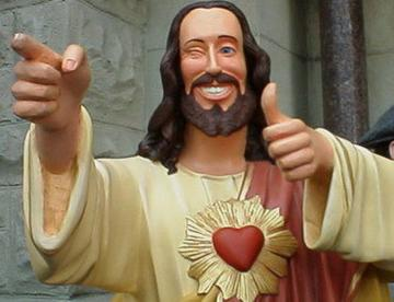 Image result for jesus thumbs up