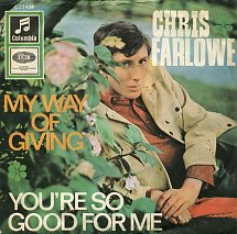 My Way of Giving Song written by Steve Marriott and Ronnie Lane