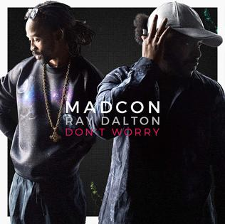 Madcon featuring Ray Dalton — Don't Worry (studio acapella)
