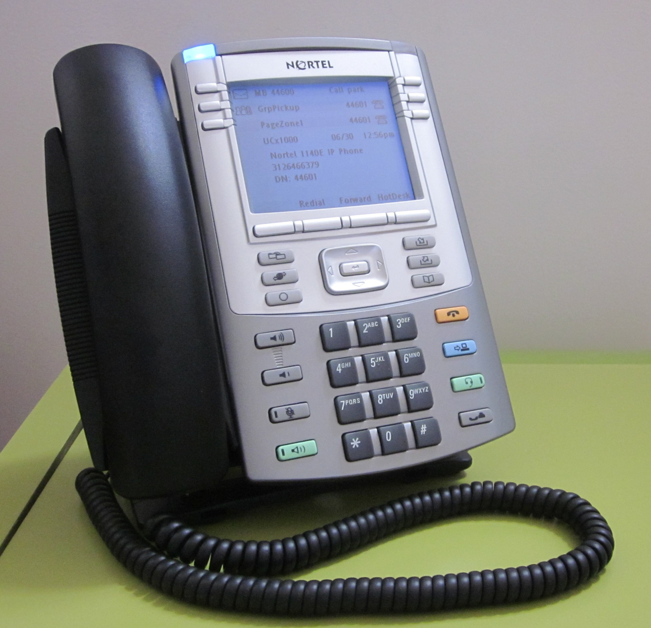 Desk Phone: Nortel Desk Phone