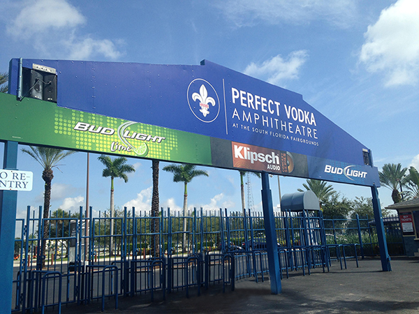 Perfect Vodka Amphitheatre West Palm Beach Florida Directions