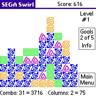 Picture of a game: Sega Swirl