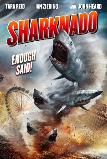 Sharknado movie poster